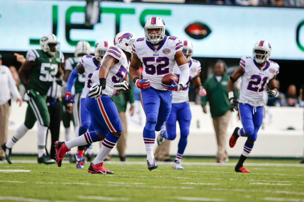 O calouro Preston Brown foi um dos destaques dos Bills