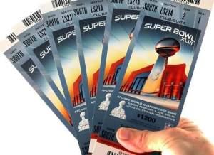 Ingressos do Super Bowl 46