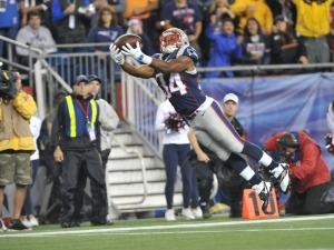 Vereen recebeu dois passes para touchdown