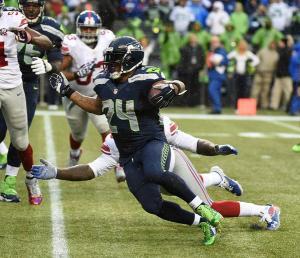 Marshawn Lynch e seus quatro touchdowns