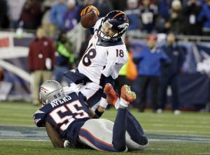 Manning sofreu pressão o jogo inteiro e não esteve bem