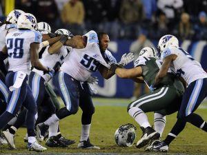 Confusão entre atletas de Jets e Titans