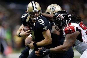 Pressão em Drew Brees e fim de temporada para os Saints