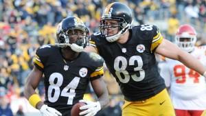 Antonio Brown entrou para a história dos Steelers