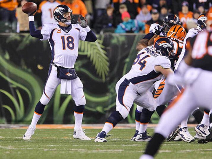Manning foi muito bem no terceiro quarto