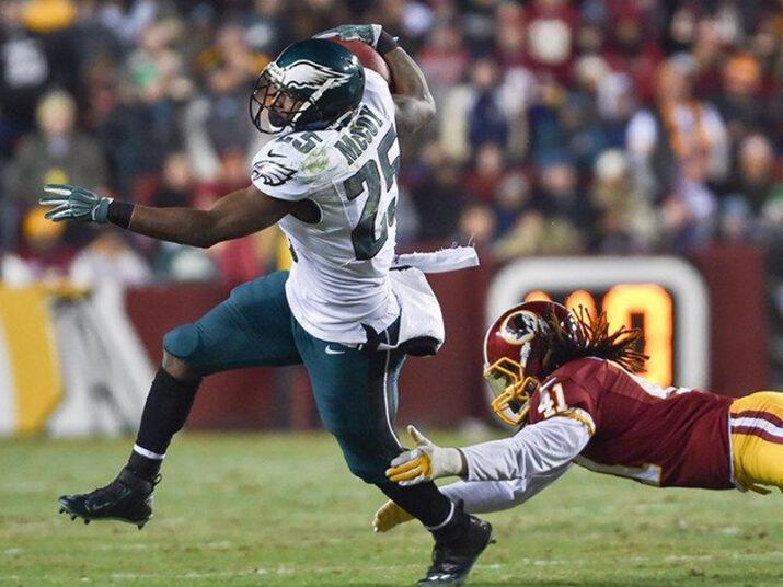 McCoy foi o melhor jogador do ataque dos Eagles