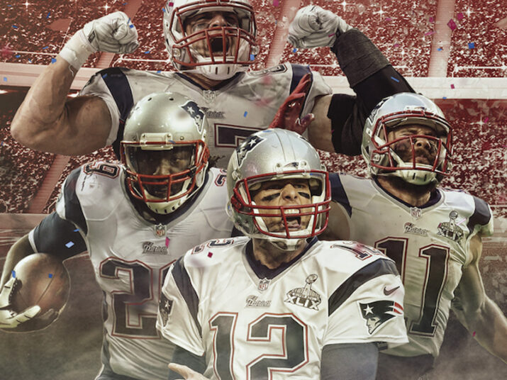 Virada fantástica dos Patriots!