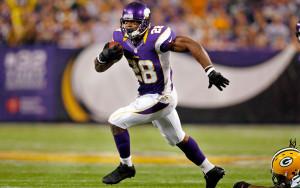 Peterson está de volta aos Vikings