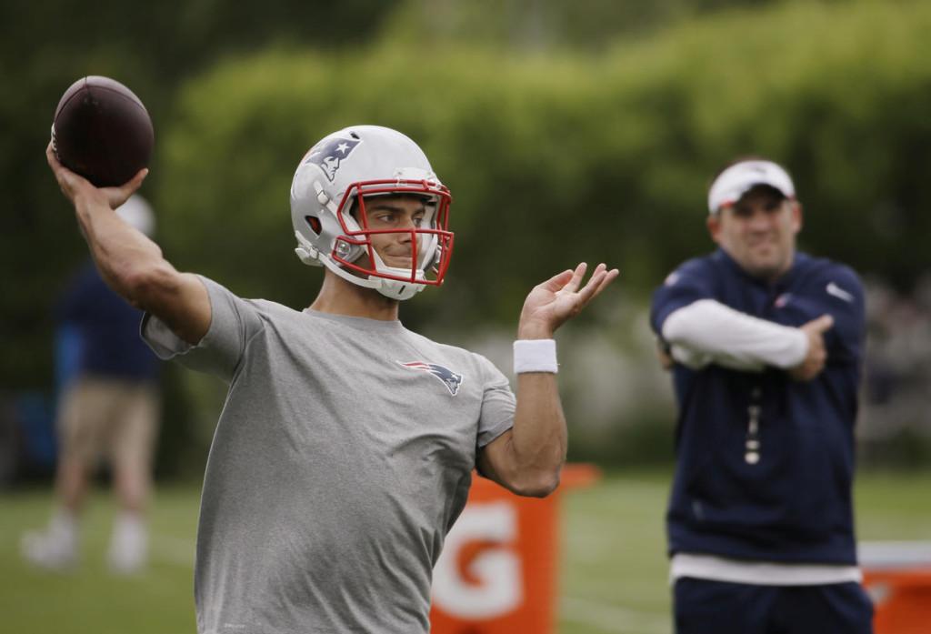 Garoppolo com problemas - será o substituto ideal para Tom Brady?