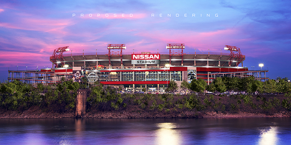 Sai o LP Field, entra o Nissan Stadium na temporada 2015