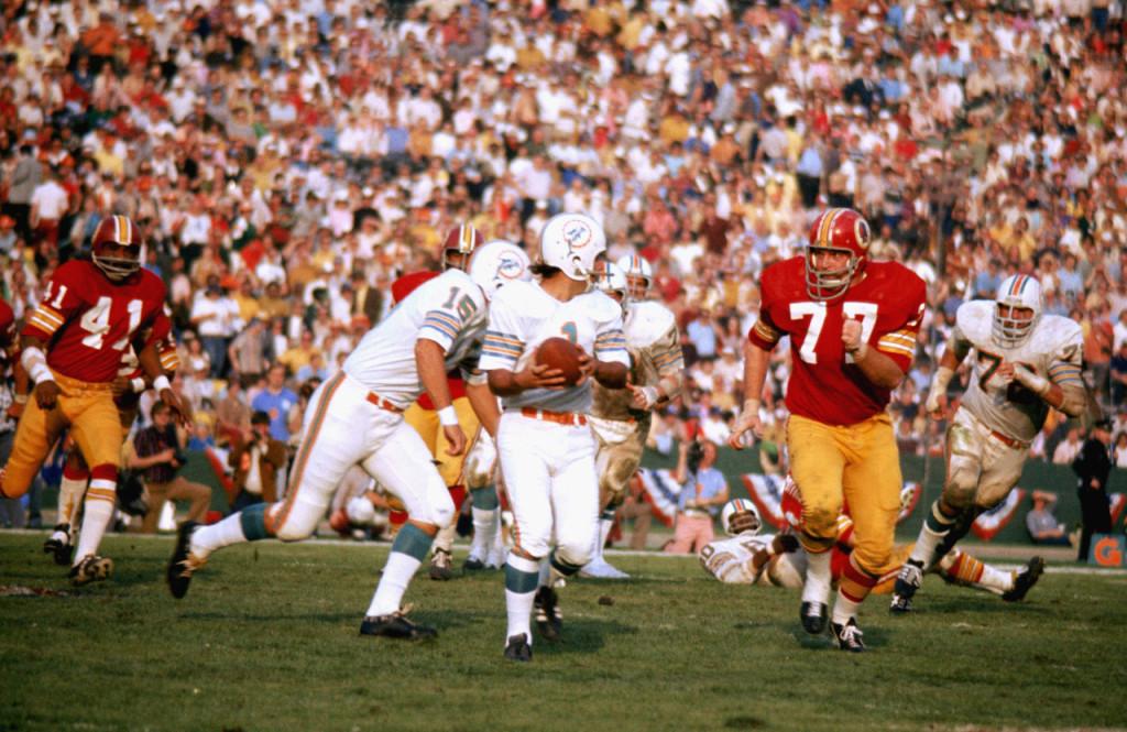 No primeiro encontro em SB deu Dolphins; no segundo deu Redskins