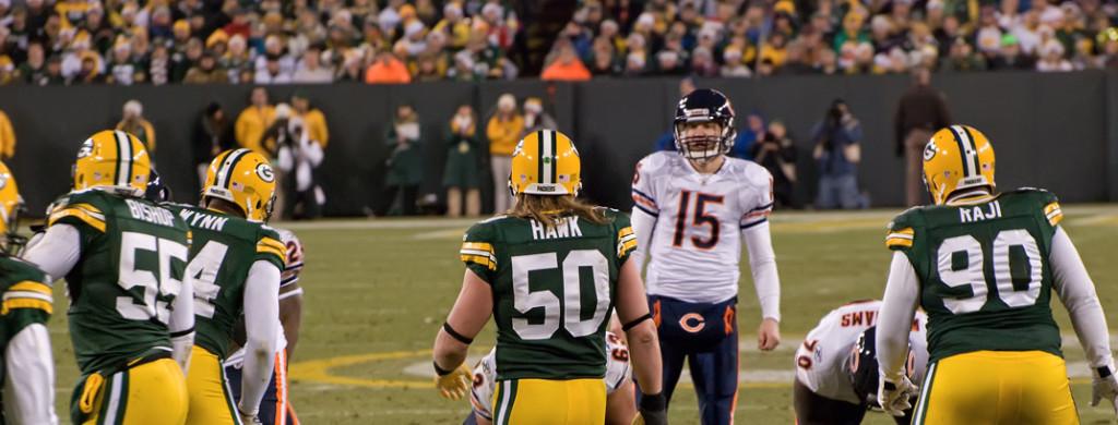 A vida do torcedor do Bears tem sido dificil contra os Packers