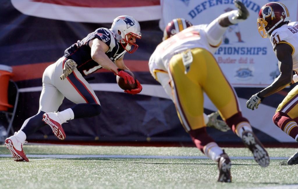 Edelman chegou ao oitavo touchdown nesta temporada