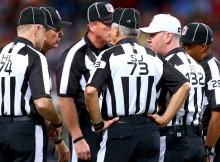 NFL muda procedimentos dos árbitros para os playoffs