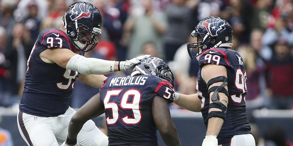 Linha ofensiva dos Texans engoliu os Jaguars e comandou o time