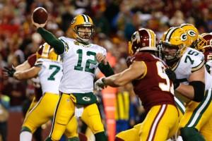 A-Rod liderou a boa atuação dos Packers
