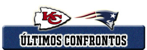 ULTIMOS CONFRONTOS CHIEFS PATRIOTS
