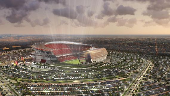 Quem vai jogar em Los Angeles?
