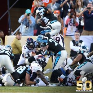 Stewart voa para o touchdown