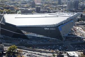 Nova arena do Minnesota Vikings
