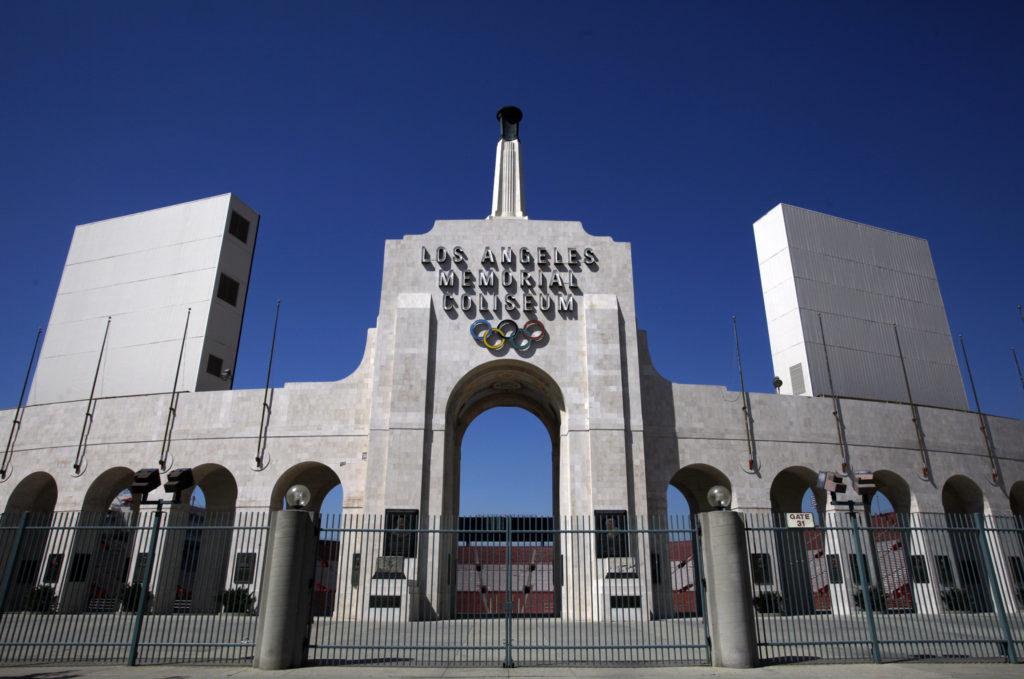 O Los Angeles Memorial Coliseum será o palco do retorno dos Rams para LA