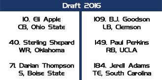 draft giants