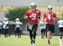 Training Camp do New Orleans Saints - Drew Brees