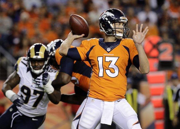Siemian será o titular dos Broncos na abertura da temporada