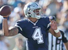 Dak Prescott estreou bem pelos Cowboys