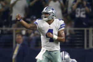 Prescott liderou Dallas para mais uma vitória