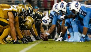 Color Rush para Titans e Jaguars, no TNF