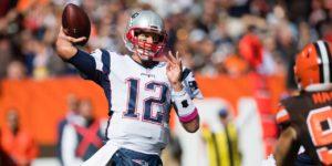 Brady controlou o jogo