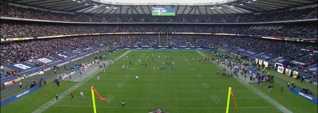 Twickenham Stadium recebeu seu primeiro jogo da NFL na história