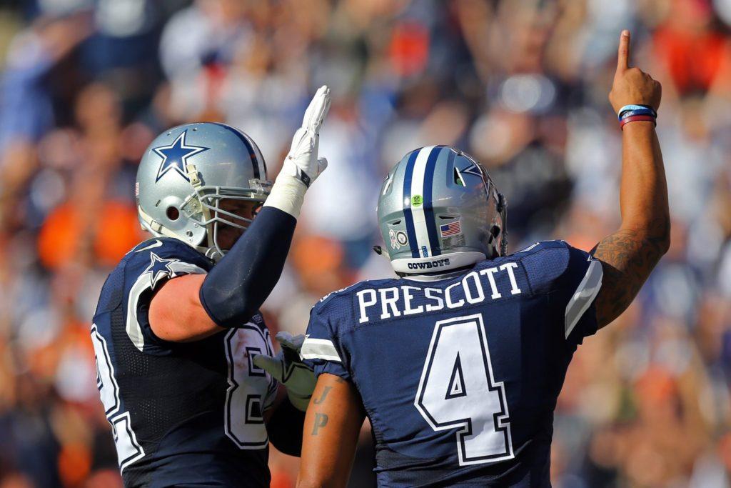 Dak Prescott comandou o time mais uma vez
