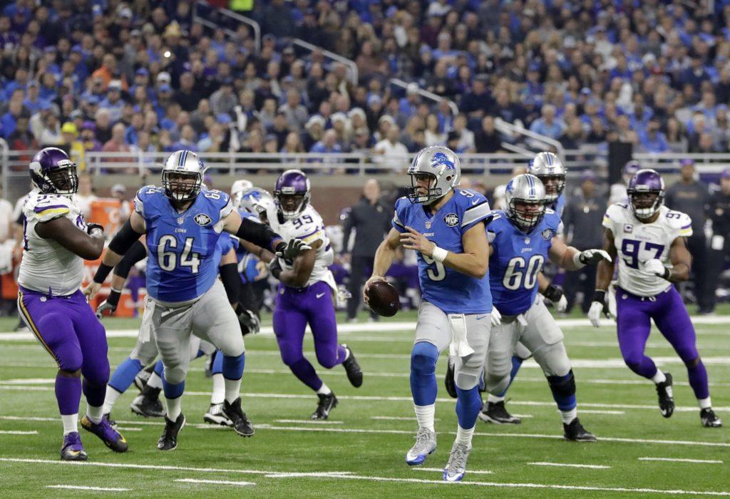 Stafford liderou os Lions na vitória sobre os Vikings