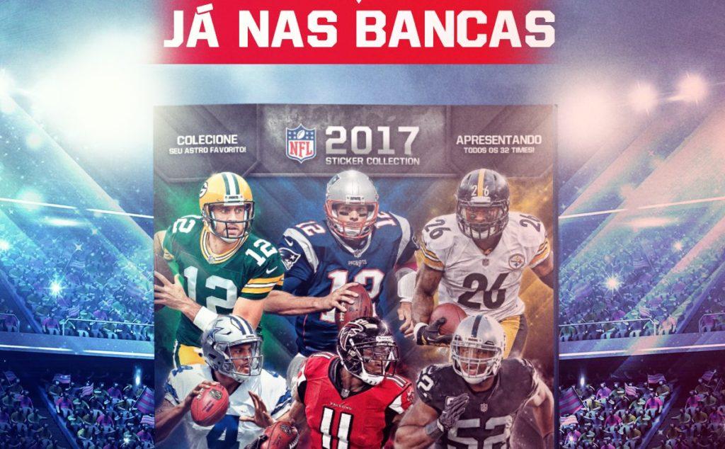 Corre para as bancas! Panini lança álbum 2017 da NFL  944e06433ff